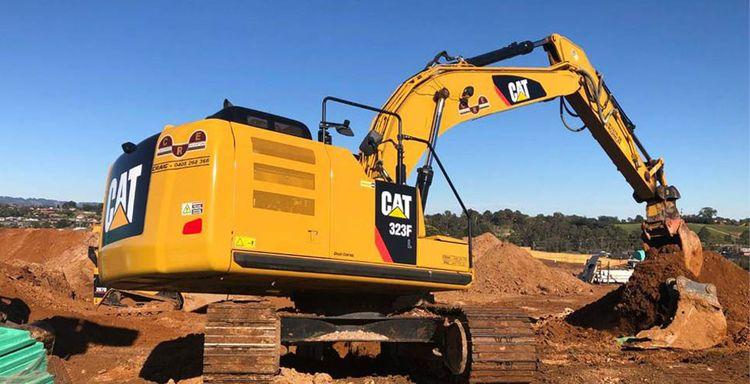 Caterpillar 323FL Crawler excavators