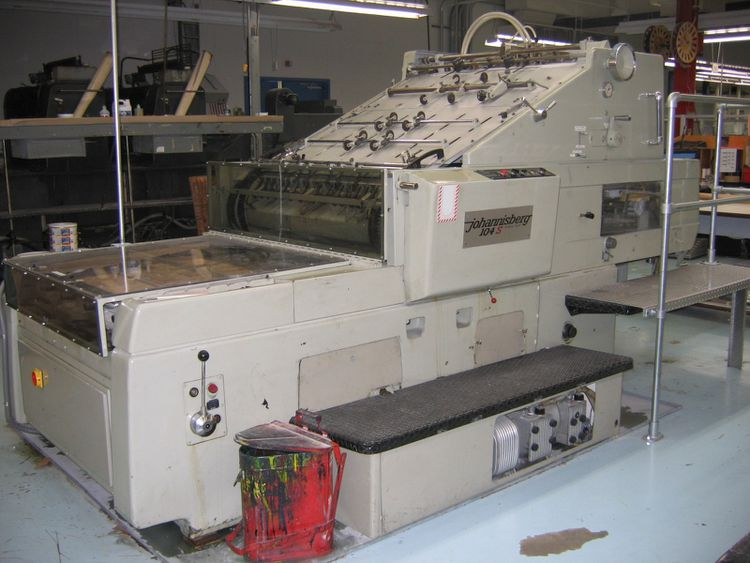 Johannisberg S104, Die Cutting Press