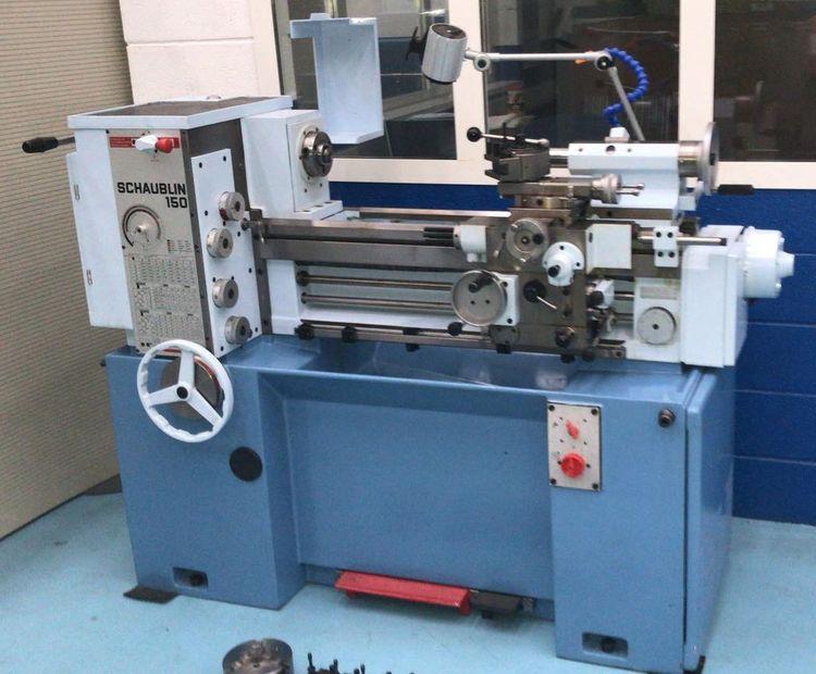 Schaublin Engine Lathe 3000 rpm 150
