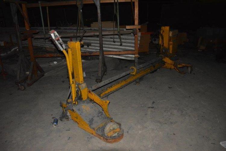 Warp Gaiting Trolley (With Staubli Attachment)