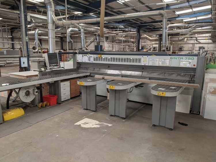 RBO, Selco WNTR 750 - WINNER, Panel Saw System