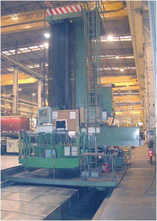 "Wotan RAPID 5 CNC HORIZONTAL BORING MACHINE 6.3"" Variable"