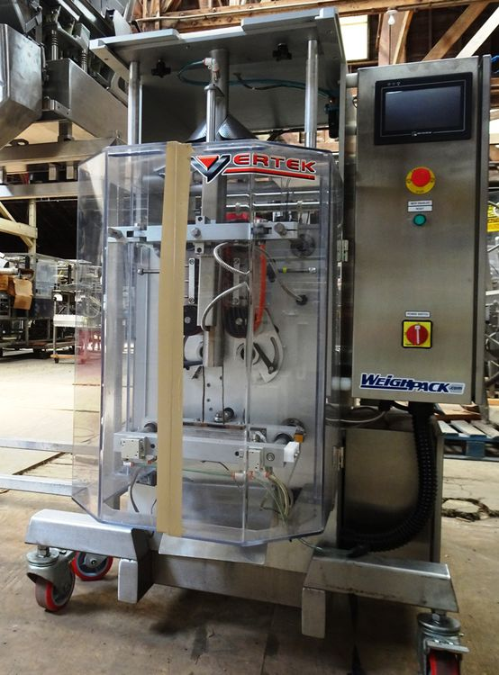 Vertek 750 form, fill and seal machine/bagger