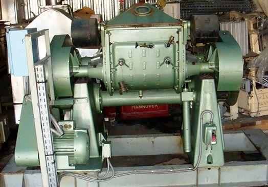 Guittard M54 Z Blade Gum Mixer Jacketed Mild Steel Bowl