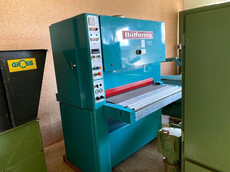 Butfering Pro 110, Wide belt sanding machine