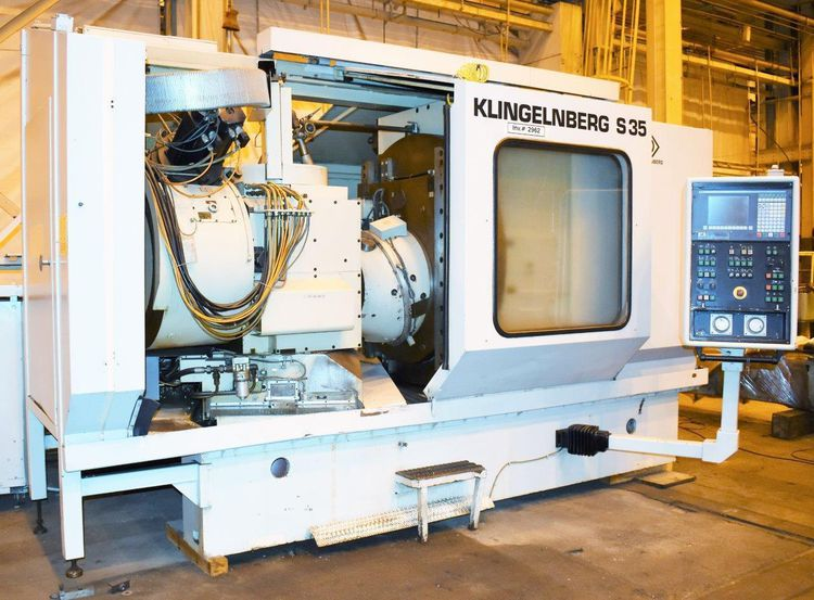 Klingelnberg, Oerlikon S35 350 min-1 Spiral Beval and Hypoid Gear Cutting Machine