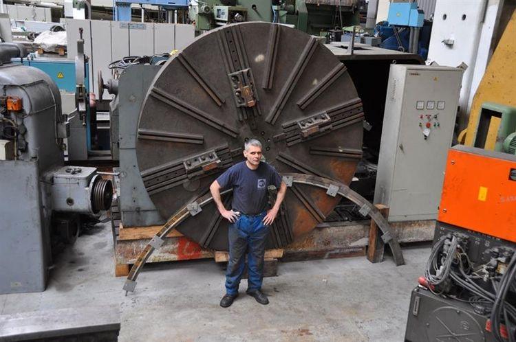 Schneider, SFAC Centre lathes 27 rpm Ø 3300 x 7500 mm