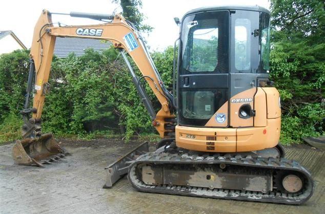 Case CX50B Excavator