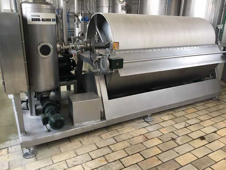 Seitz Dorr-Oliver vacuum rotary filter