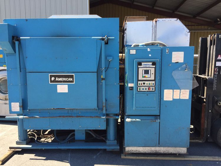American Laundry Machinery 450LB GAS DRYER