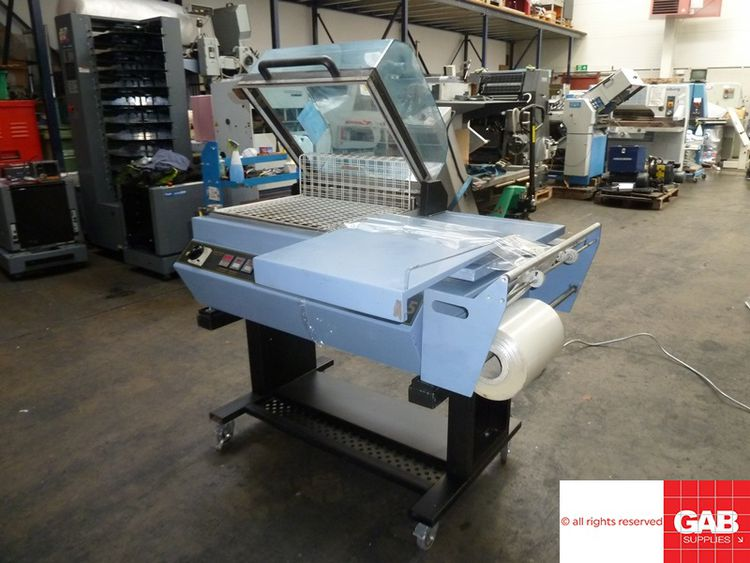 Dibipack 4255, All in one shrink wrap machine 28 x 35 cm
