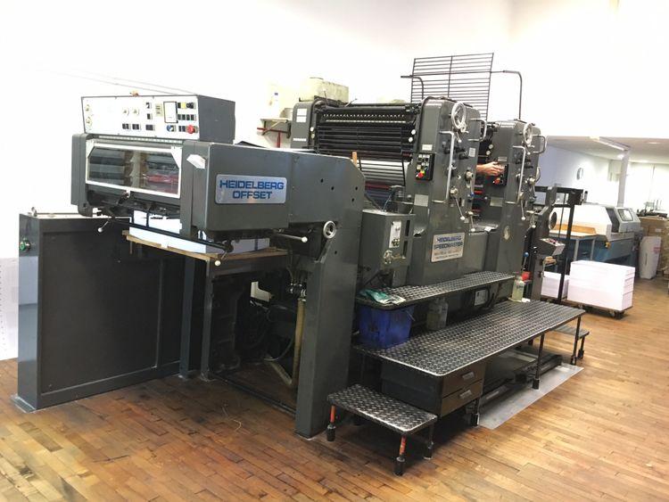 Heidelberg SM 72 ZP 52 x 72 cm