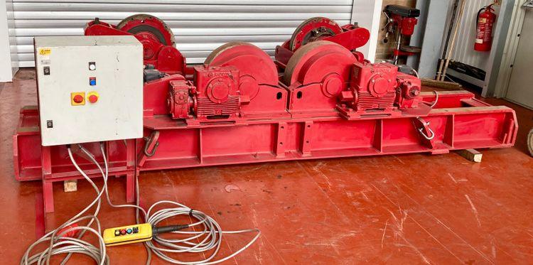 Bode Bode 30 Ton Steel Wheel Conventional Welding Rotators