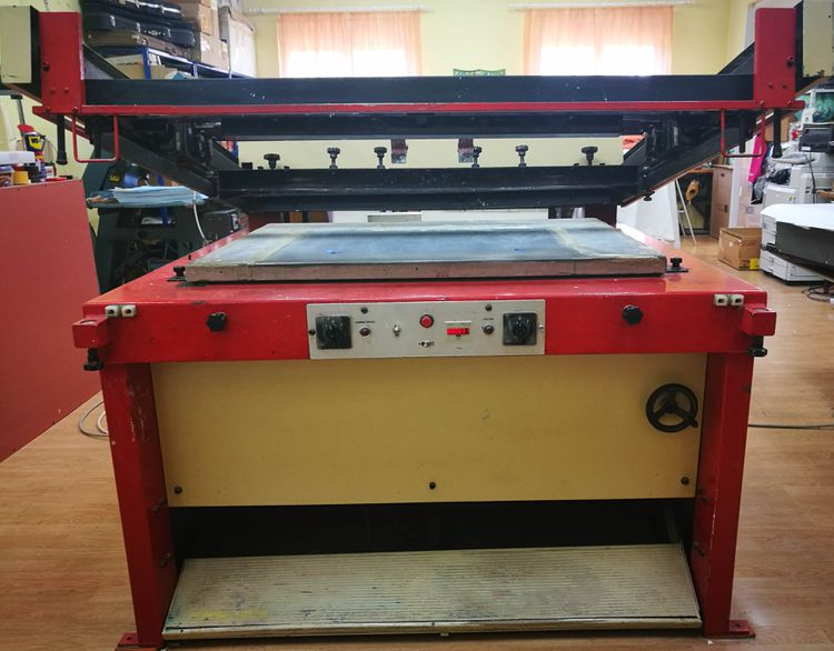 Others 150 120 cm flatbad screen printing machine