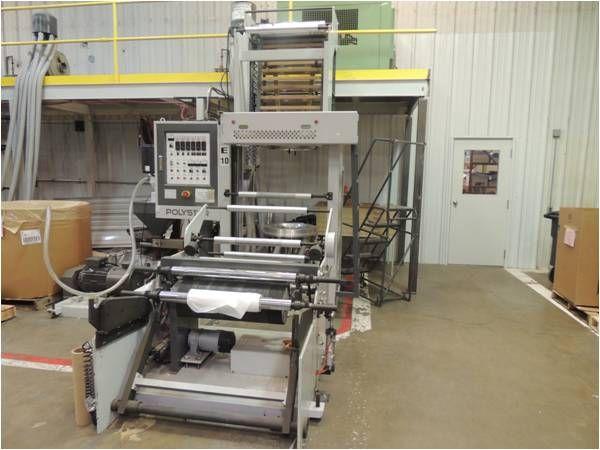 2 Polystar MB 45-750 Machinery blown film line