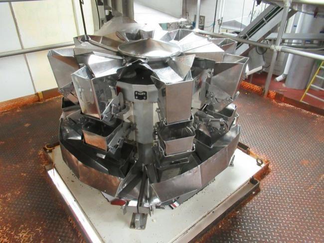 Yamato ADW 508 SNX combination weigher