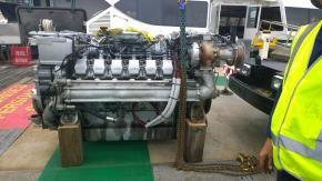 4 MTU 12V2000M60s Marine Engine