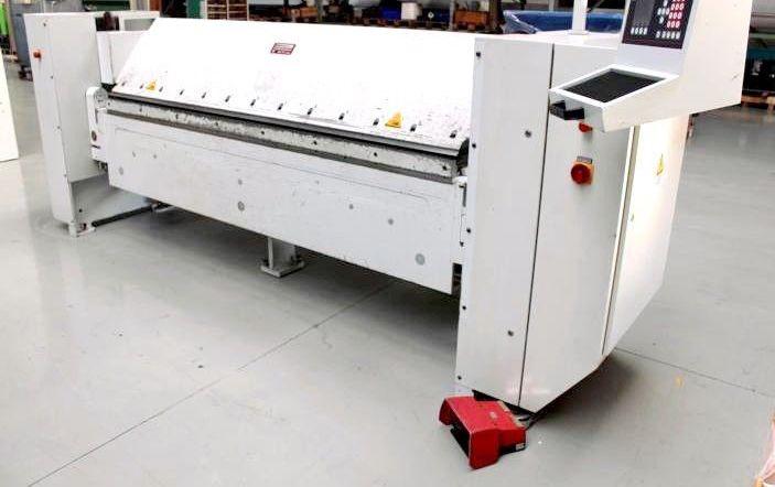 Schroder MAK II / 2520 x 3,0 sheet width2520 mm