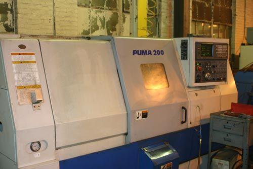 Daewoo Fanuc 18T CNC Control 4500 rpm PUMA 200C 2  Axis