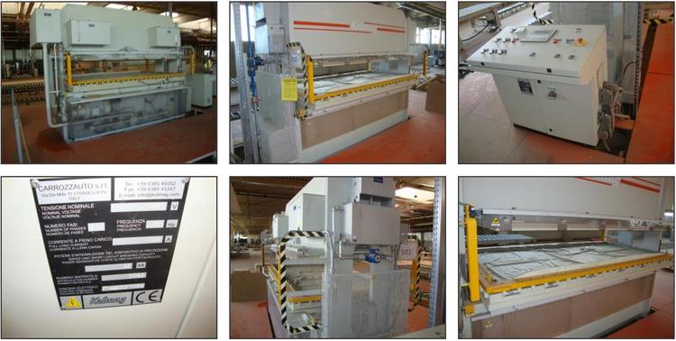 Kolmag SPM/R/265x130 CE, Single Membrane Press Machine