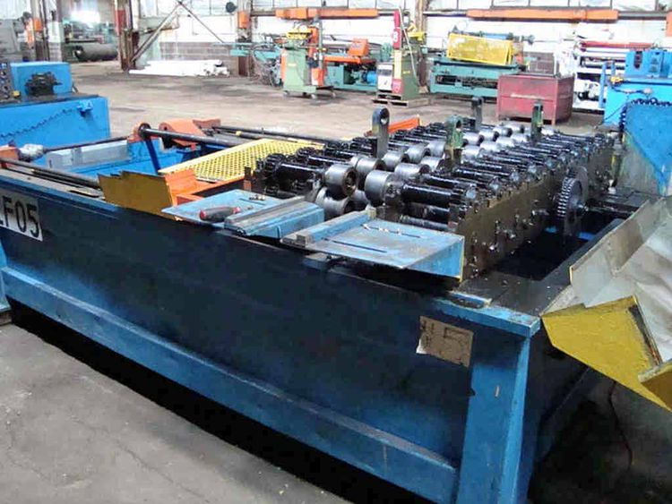 "Lockformer 10 Stand 72.00"" x 1.125"" Rollformer"