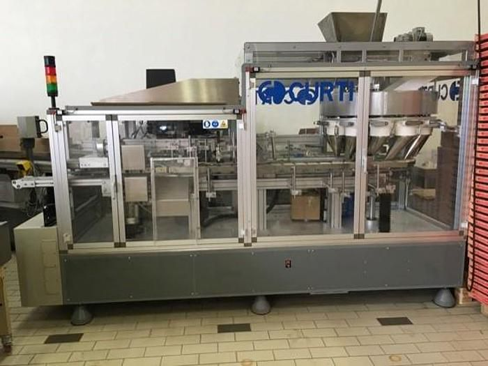 Curti 1001 DX. 300 version FILLER & VERTICAL CARTONNER