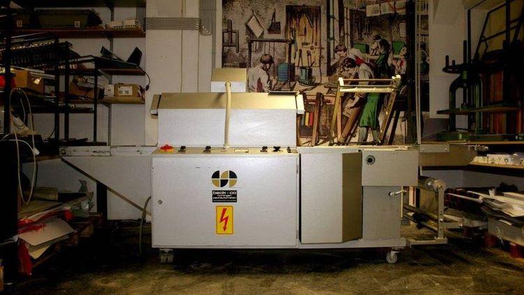 Beck Packautomaten KC 5544, Semi-Automatic Foil sealing machine