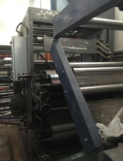 flexo for PE HDPE 2 col. 800 mm