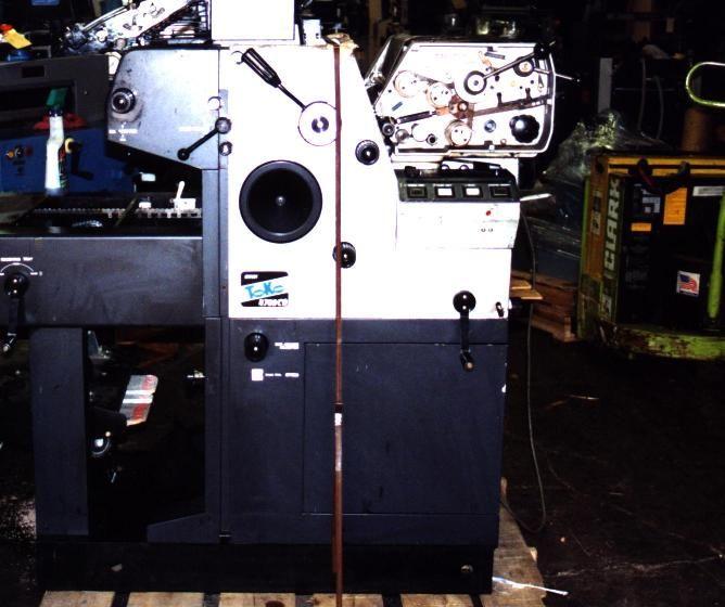 """Toko 4700 CD, 2 colors offset machine 13""""x17.5"""""""