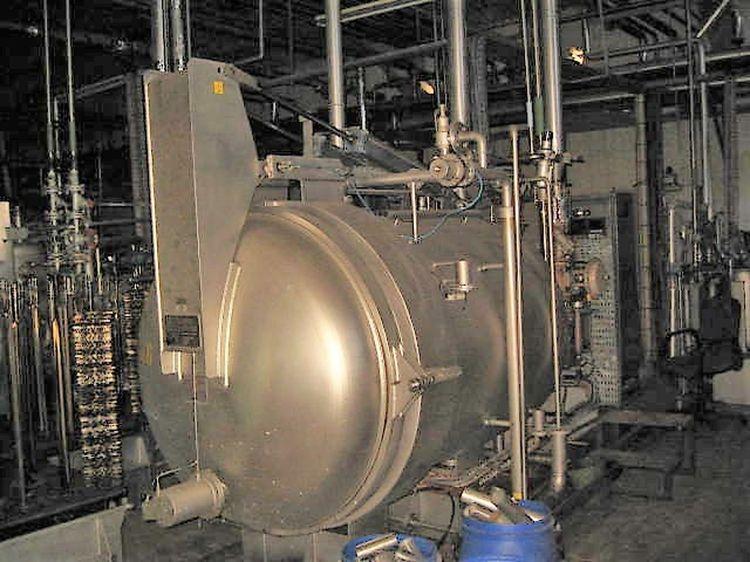 Loris Bellini 120 kg URL  Horizontal yarn dyeing machine