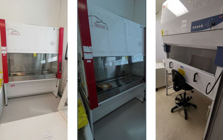 3 Jouan Hood, microbiological safety cabinet