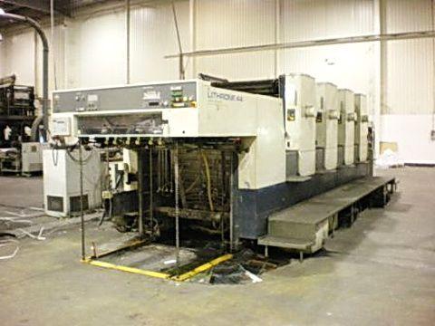 Komori L-444, Offset 4 Colours Press Machine 82 x 113 cm