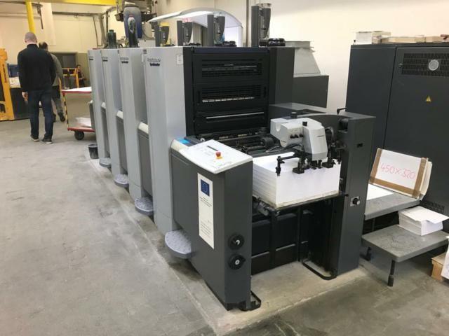 Heidelberg SPEEDMASTER SX 52-4 ANICOLOR 360mm x 520 mm