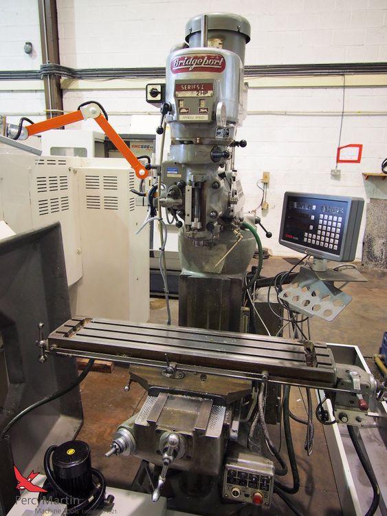 Bridgeport BR2J2 Turret Mill 3750 rpm