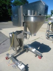 Per-Fil PF-14 FG, STAINLESS STEEL SINGLE AUGER FILLING MACHINE
