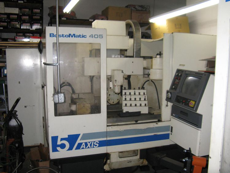 Bostomatic 405 5-Axis Machining Center Vertical 5 Axis
