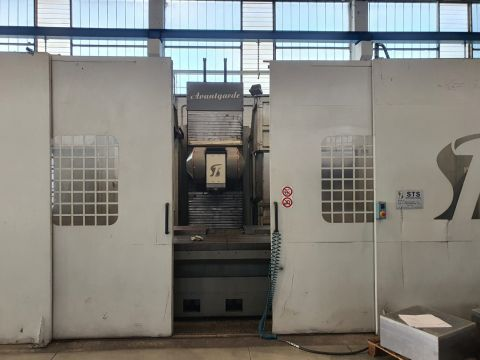 STS milling machine Sts Avantgarde 5 axis