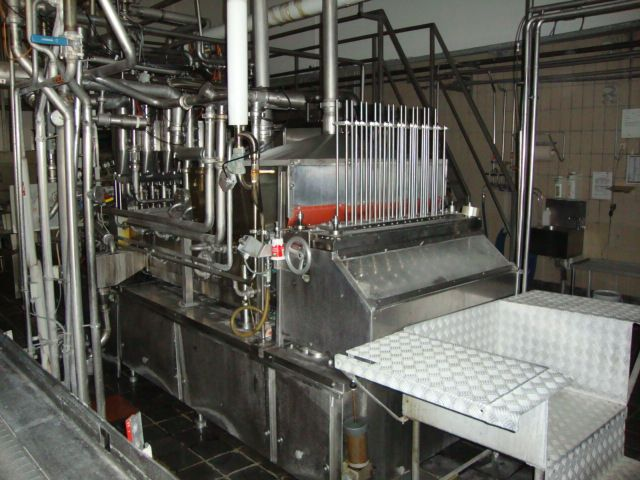 Hamba BK 8008 Cup filling and sealing machine