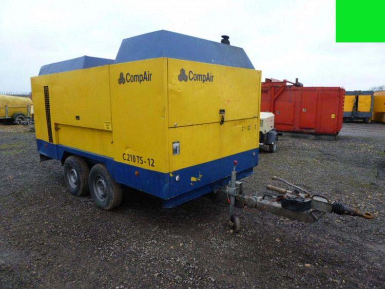 Compair, Holman C210TS-12 Compressor 740cfm @ 175psi