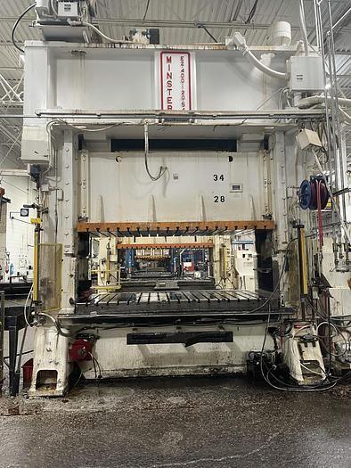 Minster E2-400-120-54 400 ton