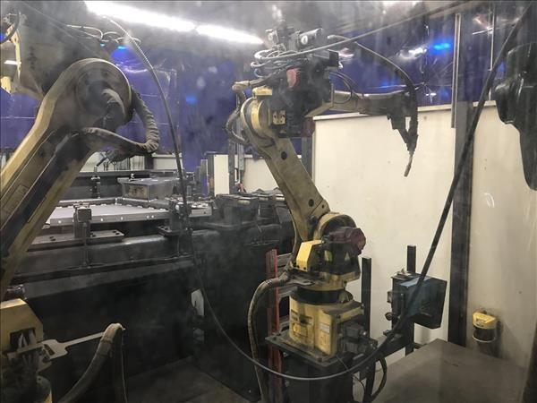 Fanuc Vizient Robotic Weld Cell Fanuc 120iB/10L 6 Axis