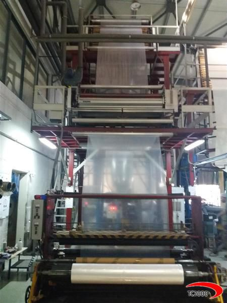 MP Engineering 1 Layer EXTRUDERS blown film machine