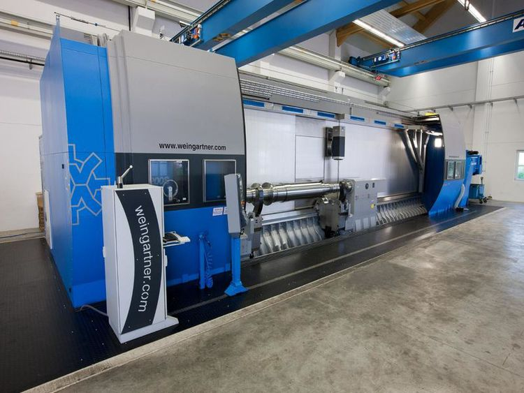 Weingartner SINUMERIK 840 D-powerline 1000 min-1 MPMC 1200S-8000 4 Axis