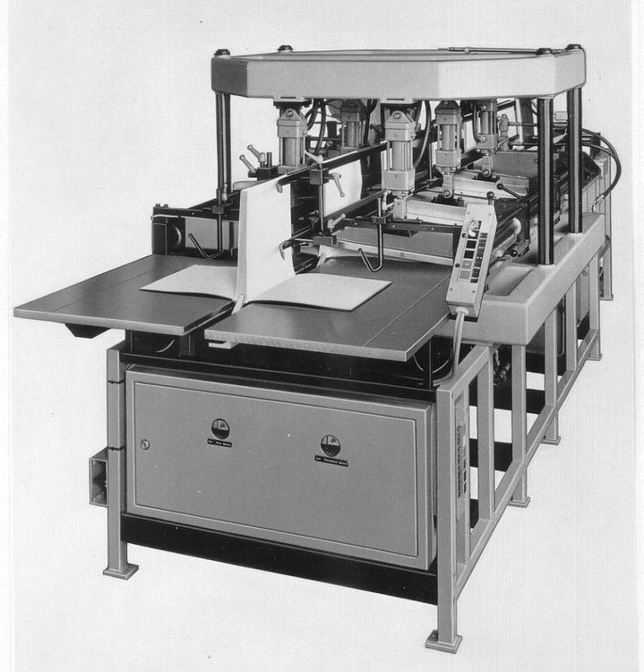 Hunkeler DP 430, Folding low-pressure press