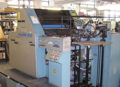Roland R 202, 2 Colors Offset Machine