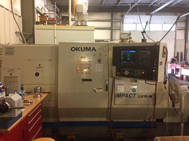 Okuma OSP7000L CNC Control 4500 rpm LU-15W 2SC/600 2 Axis