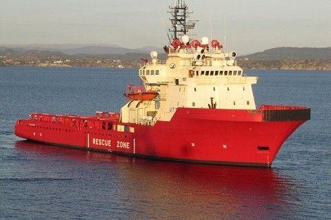 Ulstein Hatlo Offshore Tug/Supply Ship Bollard pull: 155 t