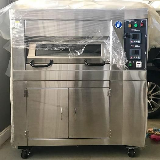 BakeMax  T1001-AS-18-1ST-1BS-SR Deck Oven
