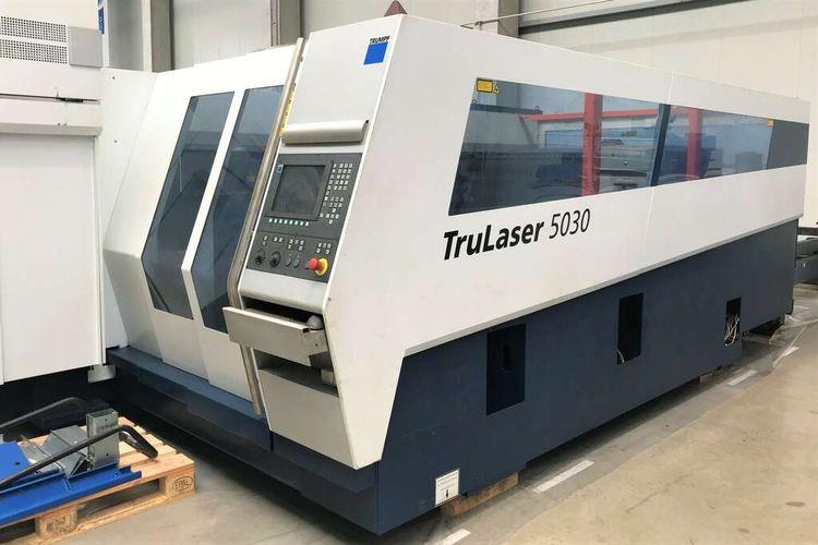 Trumpf TruLaser 5030 Siemens Sinumerik 840 D