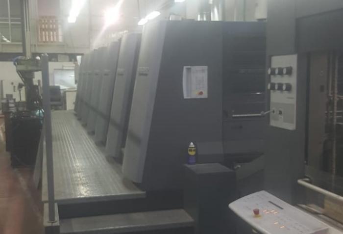 Heidelberg Speedmaster XL 105-6+LX 740mm x 1050mm